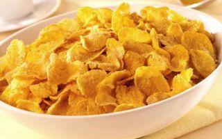 Кукурузные хлопья: польза и вред для здоровья