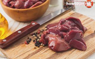 Какие витамины в куриной печени и как ее готовить для сохранения полезных веществ?