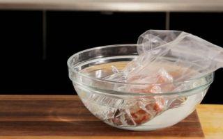 Как быстро разморозить фарш в домашних условиях