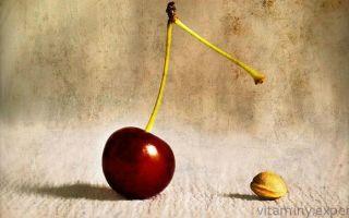 Какие витамины содержатся в вишне: ценность ароматной ягоды