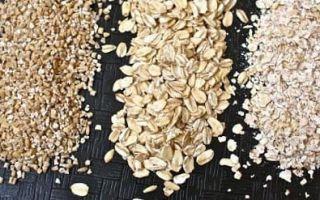 Какие витамины в овсянке и овсяной каше: состав и пищевая ценность