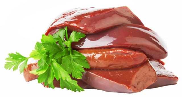 Витамин В12 в продуктах питания, таблица