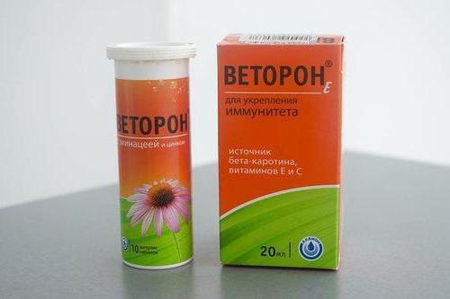 Веторон для детей: инструкция по применению капель и таблеток, цена