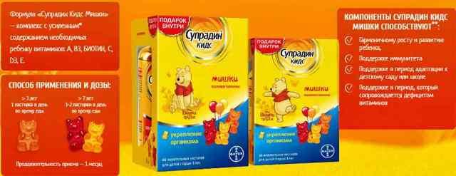 Витамины для детей для повышения иммунитета