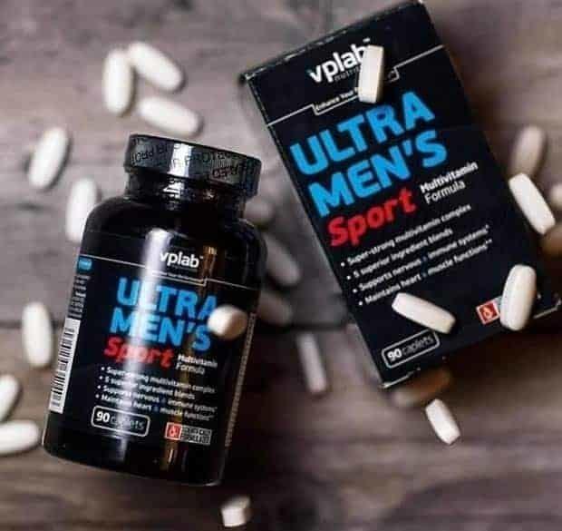 Витамины Ультра Менс Спорт: инструкция по применению, отзывы