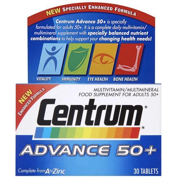 Витамины Центрум Сильвер: инструкция по применению, состав, побочные эффекты, аналоги и отзывы