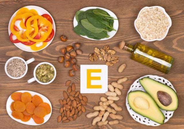 Суточная норма витамина Е