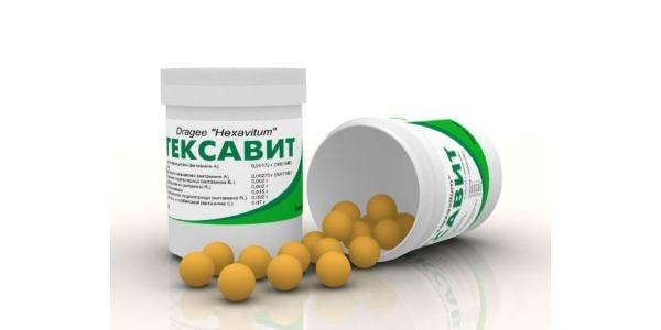 Витамины Гексавит: инструкция по применению, состав, аналоги, отзывы