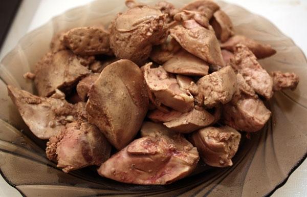 Какие витамины в куриной печени?