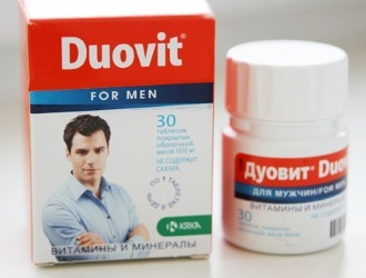 Дуовит для мужчин: инструкция по применению, состав витаминов, цена, отзывы