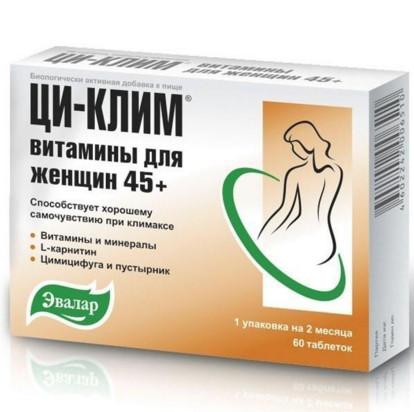 Ци-Клим витамины для женщин 45+: инструкция по применению, состав, отзывы