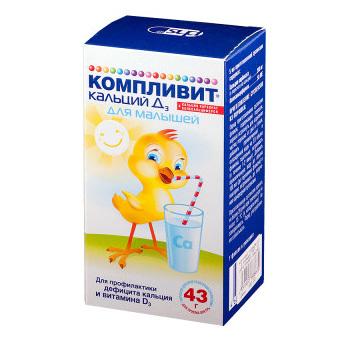 Витамины с кальцием для детей и взрослых