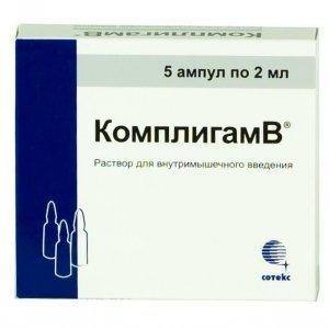 Комплигам b (уколы и таблетки): инструкция по применению, состав, цена