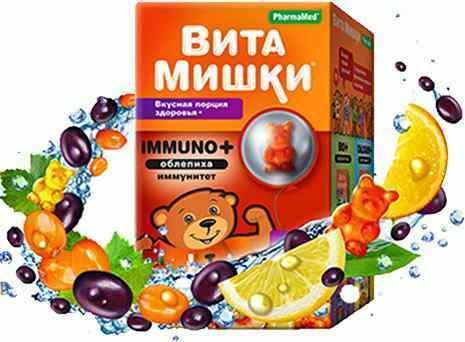 Витамины ВитаМишки для детей: инструкция по применению, состав, виды