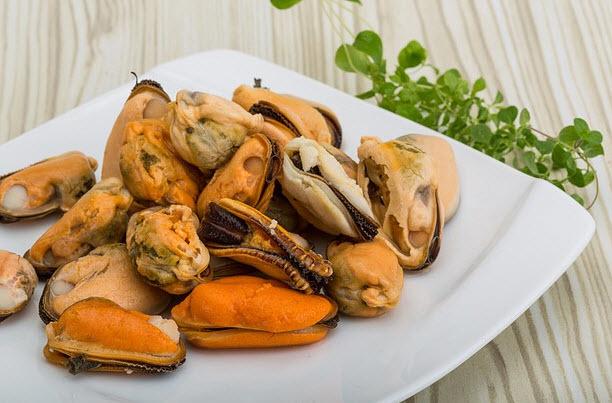 Какие витамины в мидиях?