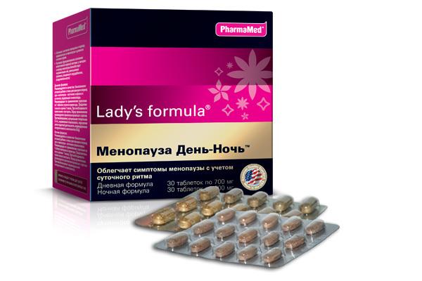 Ледис формула при менопаузе - «Усиленная формула», «День-Ночь»