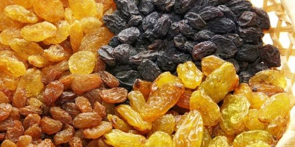 Какие витамины содержатся в изюме