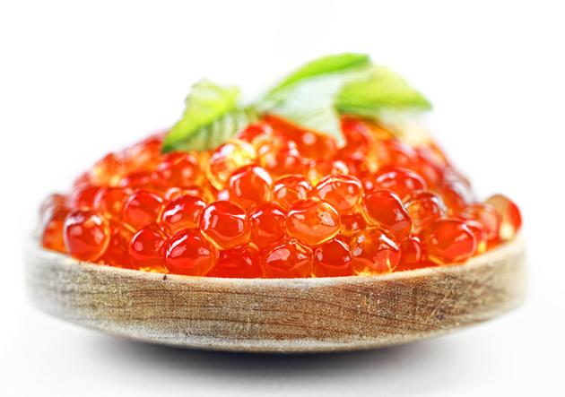Какие витамины в красной икре?