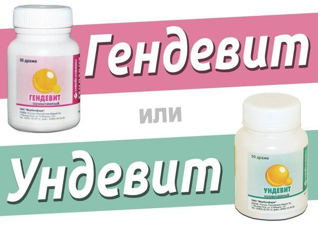 Витамины Гендевит: инструкция по применению, состав