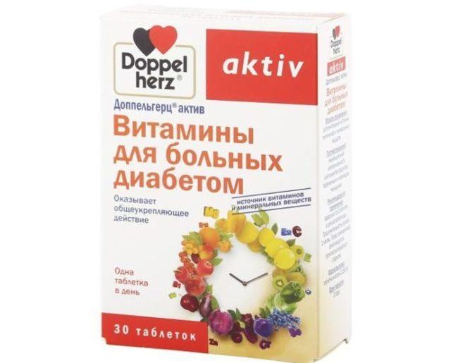 Витамины для диабетиков 1 и 2 типа: названия и цены