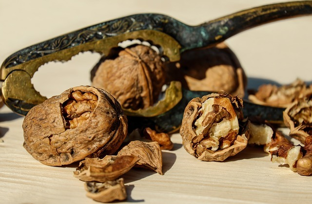 Какие витамины содержатся в грецком орехе?