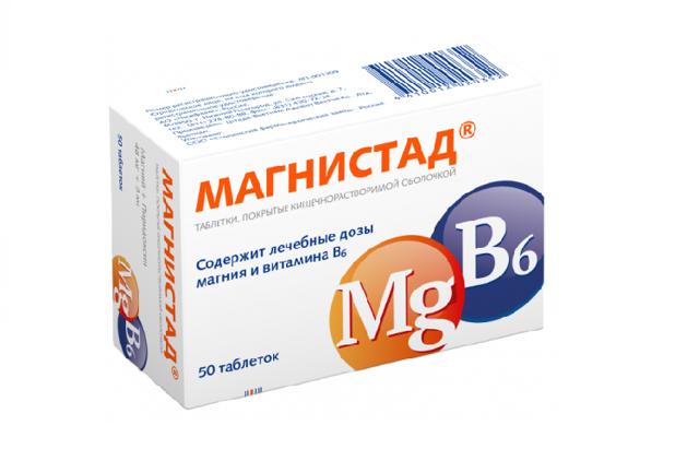 Витаминные препараты с калием и магнием