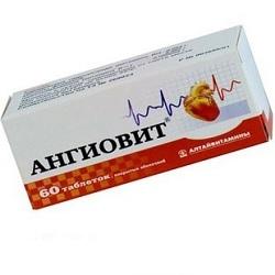 Витамины Ангиовит: инструкция по применению, состав, аналоги, побочные действия