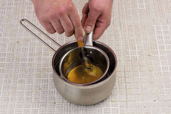 Как растопить засахарившийся мед