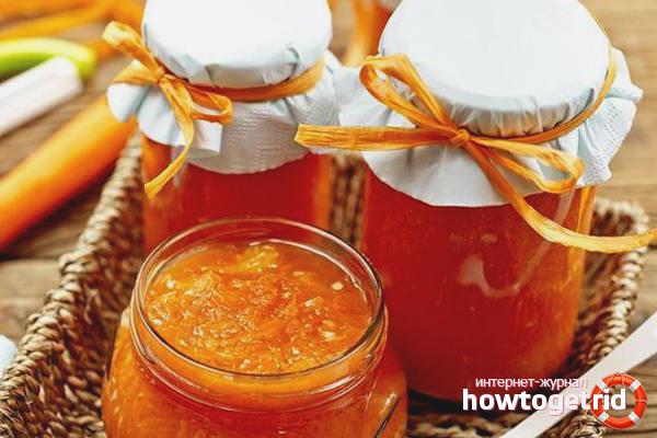 Варенье из моркови: 6 рецептов приготовления