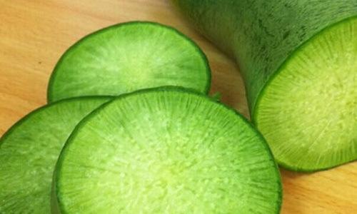 Зеленая редька: польза и вред для здоровья