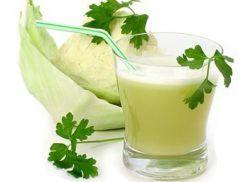 Сок квашеной капусты: польза и вред