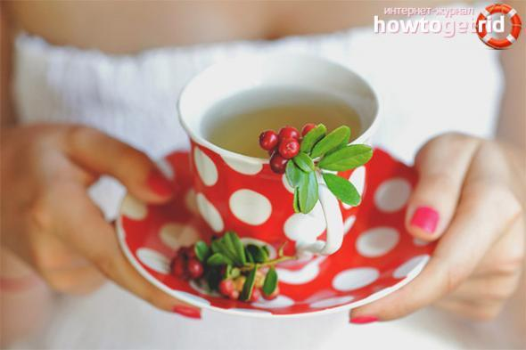 Как заваривать листья брусники для лечения почек