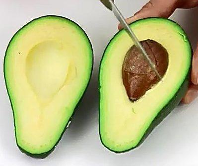 Как правильно чистить авокадо