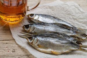 Сушеная и вяленая рыба: польза и вред