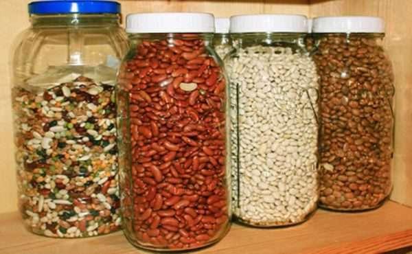 Как хранить фасоль в домашних условиях