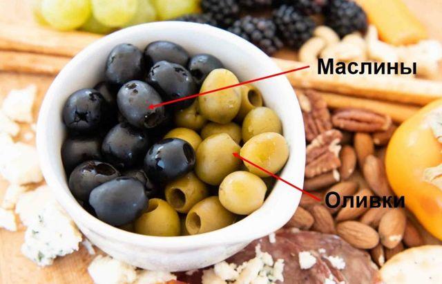 Маслины и оливки: в чем разница?