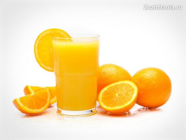 Свежевыжатый апельсиновый сок: польза и вред