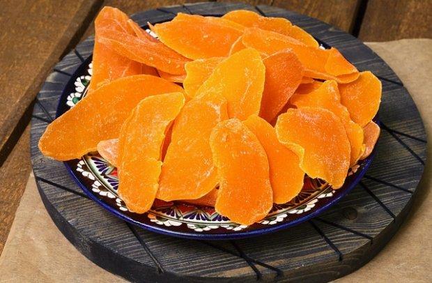 Сушеный манго: польза и вред для организма