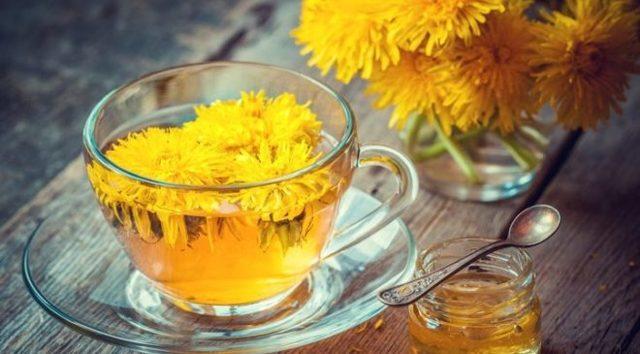 Чай из одуванчиков: польза и вред для здоровья