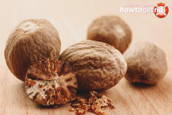 Мускатный орех: польза и вред для здоровья